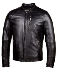 Black-Corbani-Biker-Leather-Jacket-With-Quilt-Front-Side-Zipped