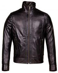 Black-Corbani-Genuine-Urban-Racer-Leather-Jacket-Front-Zipped