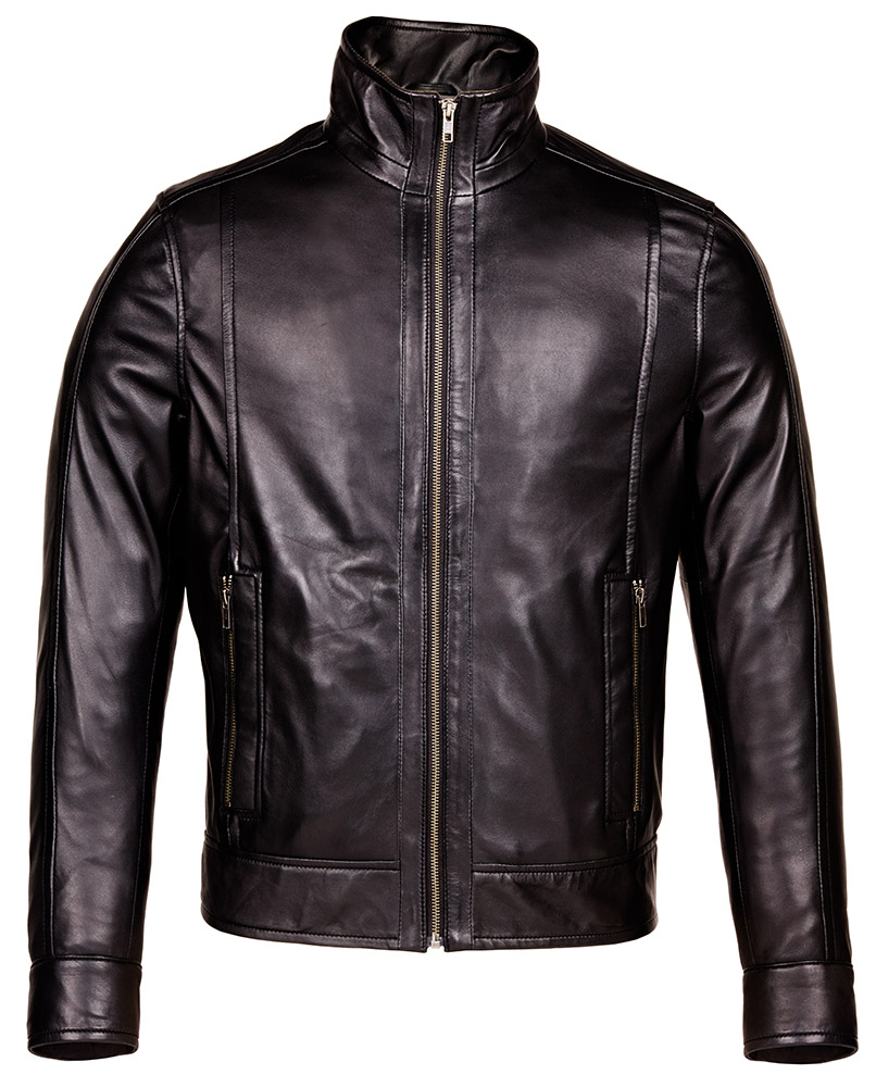Design a leather jacket