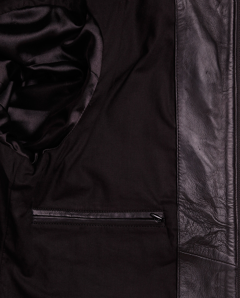 Mens Leather Moto Jacket - Designer Mens Genuine Leather ... - photo #34