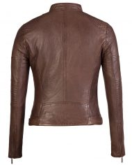 Brown-Corbani-Asymmetrical-Scuba-Leather-Jacket-With-Quilt-Back