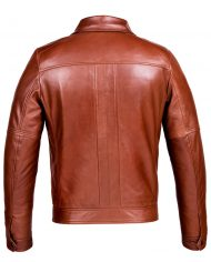 Brown-Corbani-Hooded-Leather-Bomber-Jacket-Back-No-Hood