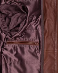 Brown-Corbani-Mens-Hooded-Leather-Bomber-Jacket-Inside