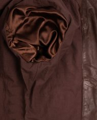 Brown-Corbani-Womens-Asymmetrical-Scuba-Leather-Jacket-With-Quilt-Inside