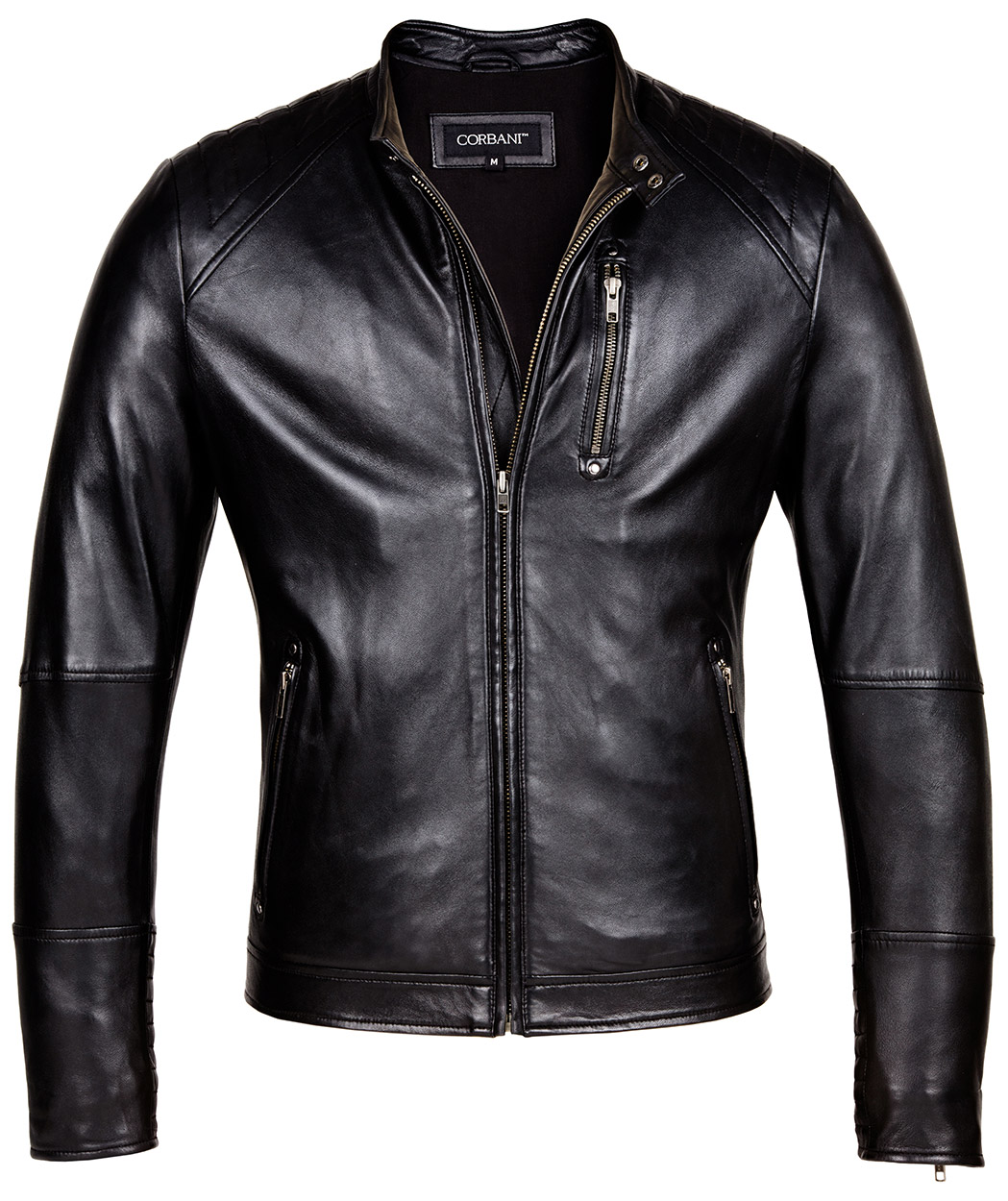 Leather jacket designer