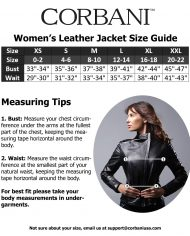 corbani-womens-size-guide