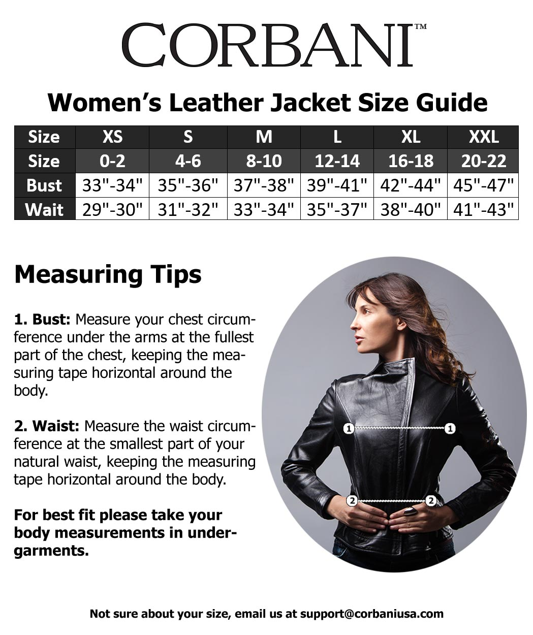087b65f6190 cognac-asymetrical-leather-jacket-inside. corbani-womens-size-guide