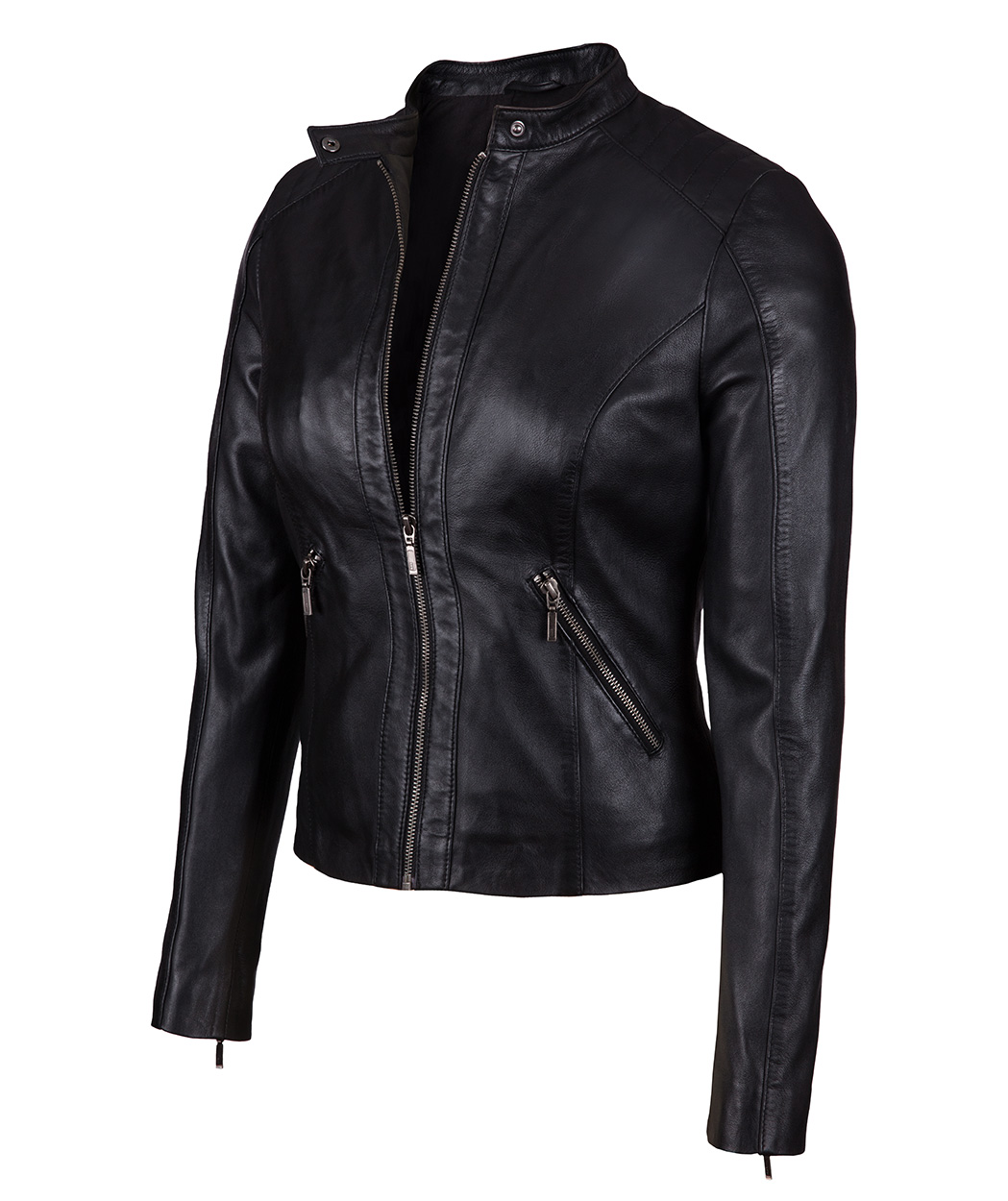 Designer Women Leather Jackets - Soft Real Genuine Lambskin Leather