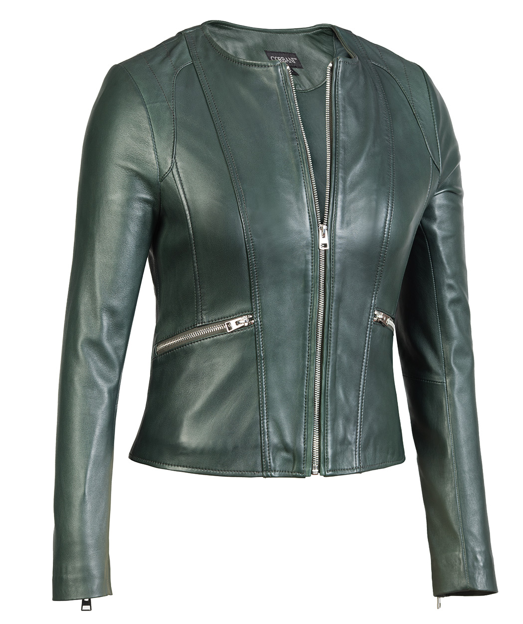 Women lambskin leather jacket