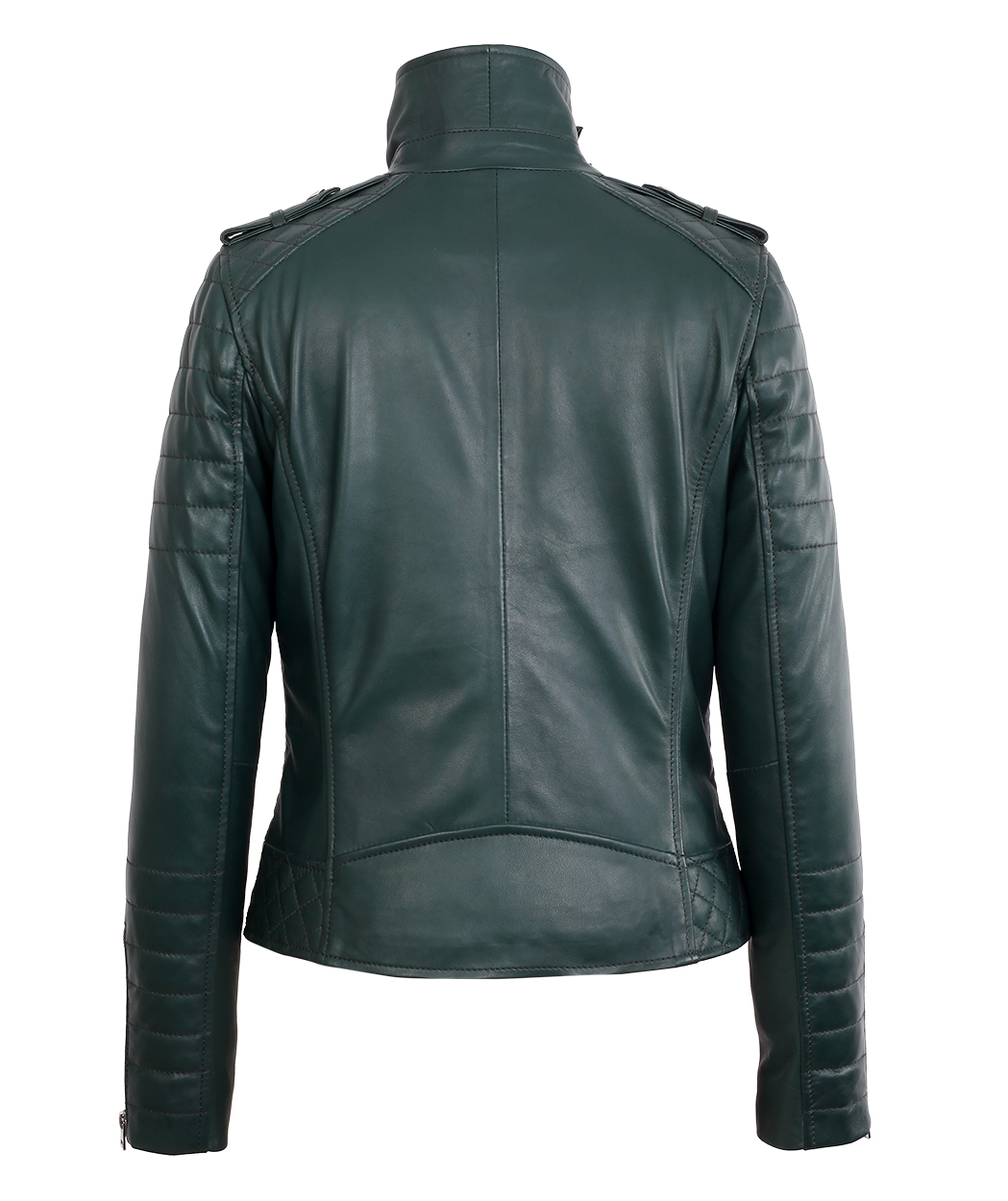 7773c1852bde ... Womens Biker Green Lambskin Real Leather Jacket. Sale! IMG_6937 ·  IMG_6936 · IMG_6939