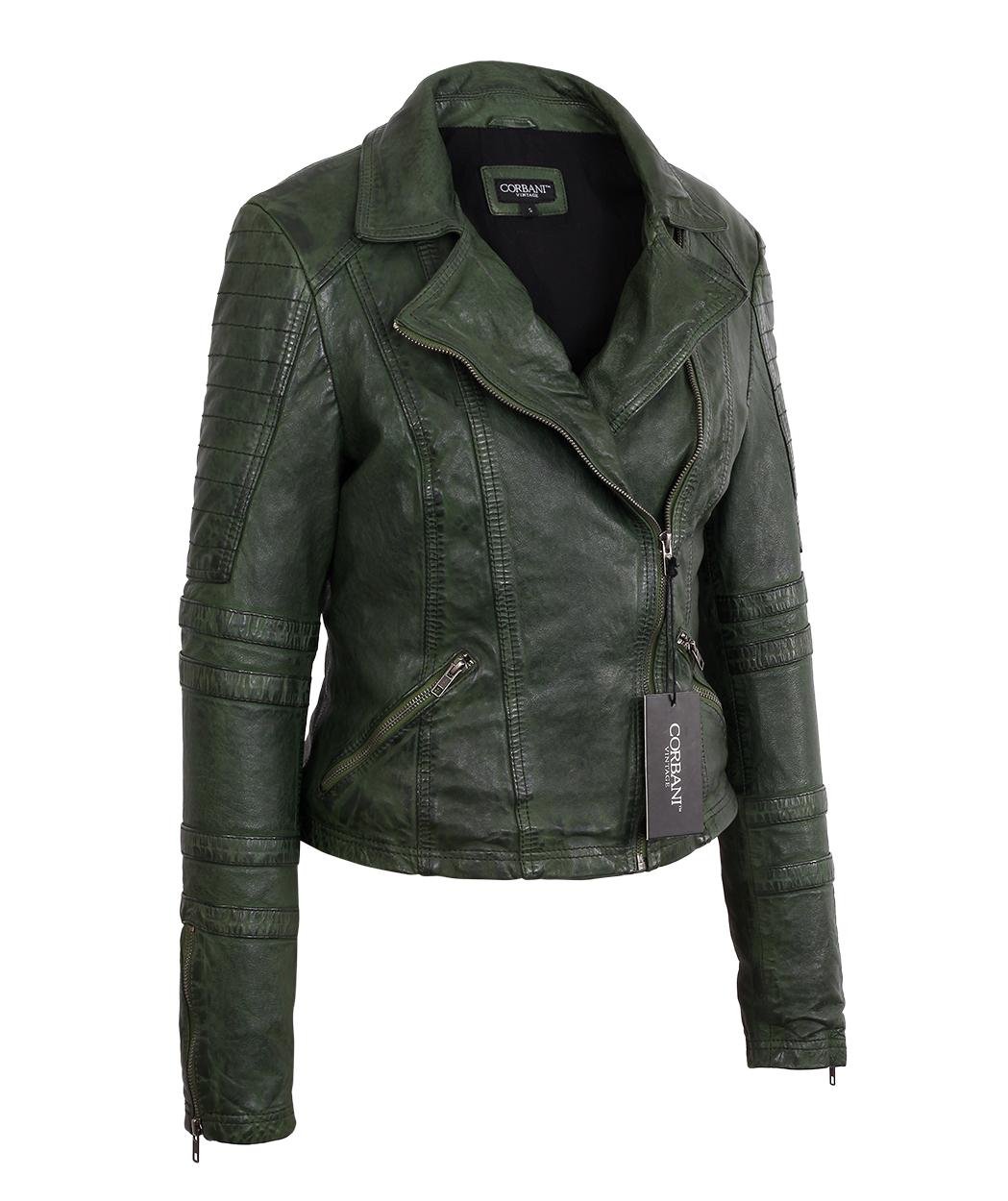 Cheap vintage leather jacket